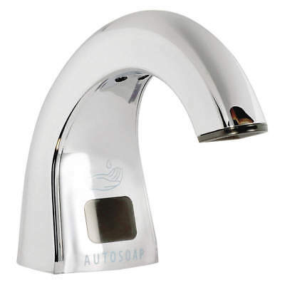 RUBBERMAID COMMERCIAL PRODUCTS Soap Dispenser, Silver, FG402073