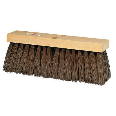 "TOUGH GUY Push Broom,Head,16"",Brown, 3A325"
