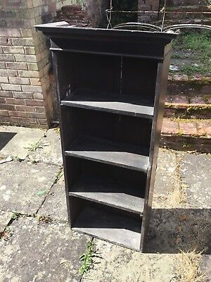 Antique Book Case - Tall And Narrow - Restoration, Spares, And Spares
