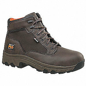 TIMBERLAND PRO Work Boots,7,W,Men,Lace Up,Brown,6inH,PR, 1150A, Brown