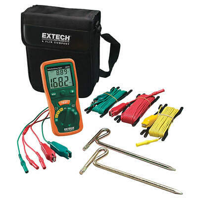 EXTECH Earth Ground Tester Kit,820 Hz, 382252