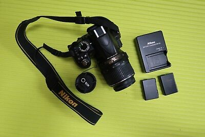 Nikon D D3100 14.2MP Digital SLR Camera - Black (Kit w/ AF-S DX VR 18-55mm Lens