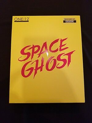 Mezco Space Ghost Glow-in-the-Dark One:12 Collective Action Figure EE Exclusive