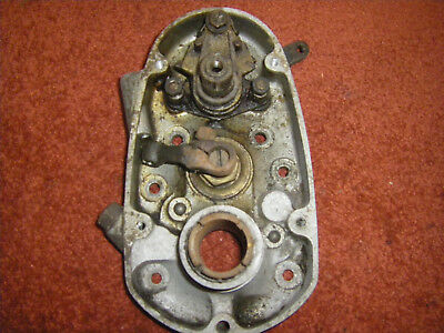 Norton Upright Gearbox Inner and  Outer Cover