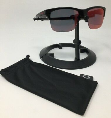 6d53ecc949f Authentic OAKLEY Thinlink Sunglasses Matte Black w Polarized Iridium  OO9316-07