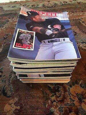 Lot of 41 Classic,Vintage Beckett Baseball Card Monthly Magazines 1980-1990's
