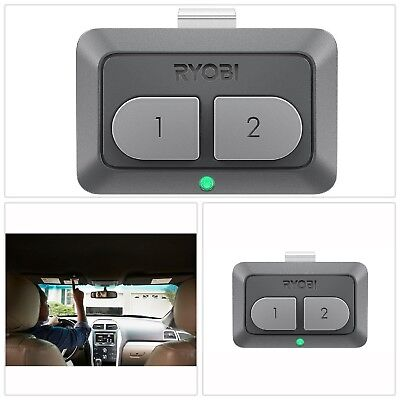 New Ryobi Garage Door Opener Car Remote Gda100 Wbattery Up To 2