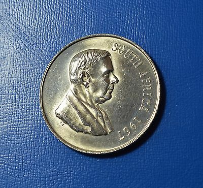 South Africa - 1 Rand 1967, Silver Coin  [# 5691]