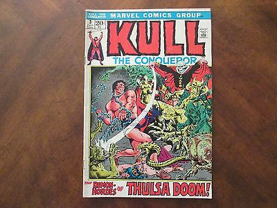 Kull the Conqueror #3 (Jul 1972, Marvel)