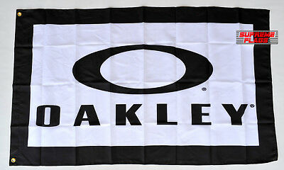 Oakley Flag Banner 3x5 ft Sunglasses Promotion Wall Garage