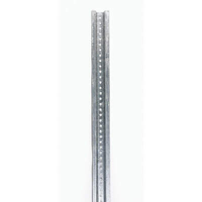 TAPCO Sign Post,8 ft. L,1-7/8 In. D,Galvanized, 054-00015
