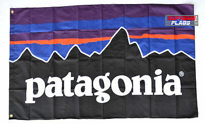 Patagonia Flag Banner 3x5 ft Outdoor Clothing Promotion Wall Garage