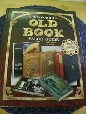 Huxfords old book value guide-13th edition