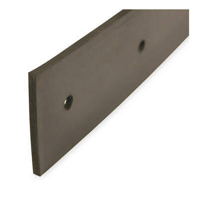 TOUGH GUY Replacement Squeegee Blade,Neoprene, 3PYV2, Black