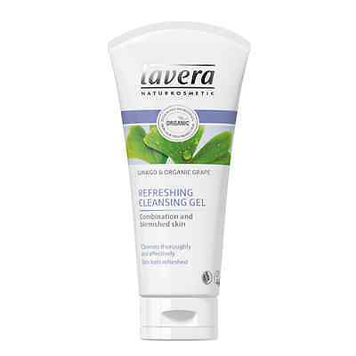 Lavera Organic Refreshing Cleansing Gel 100 Ml  - For Oily Combination Skin