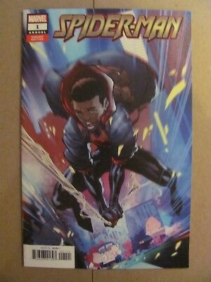 Spider-Man Annual #1 Miles Morales 2018 Marvel Comics Variant 9.6 Near Mint+