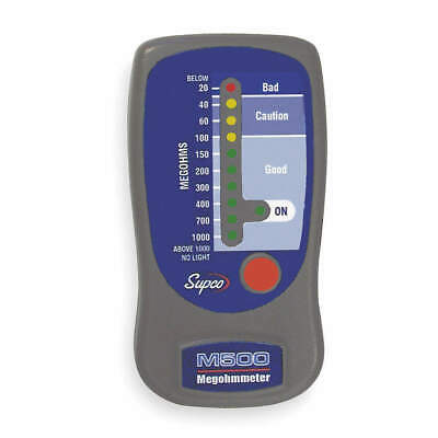 SUPCO Line Powered Megohmmeter,500VDC, M500