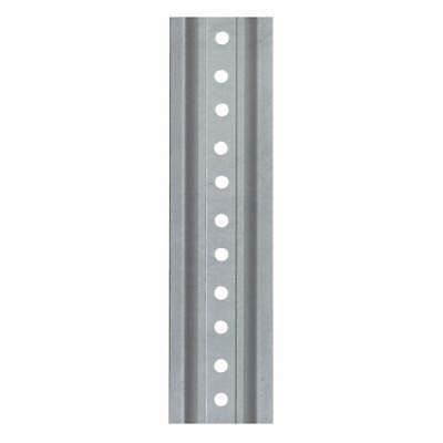 TAPCO Post,U Channel,Silver,6 ft., 054-00020