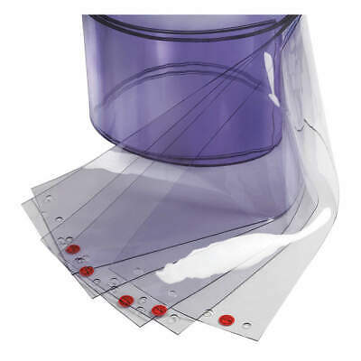 "TMI Replacement Strips,8"",Clear,PVC,PK5, 999-00005"