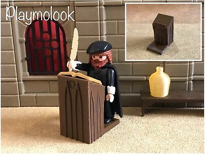 COFFIN WEST MEDIEVAL COFFIN CERCUEIL CUSTOM PLAYMOBIL FIGURES NOT INCLUDED
