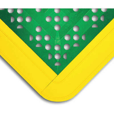 "WEARWELL Interlock Drainage Mat,Green,2ft3""x2ft6"", 546"
