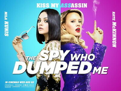 """012 The Spy Who Dumped Me 2018 - Fun Hot Girl Movie 32""""x24"""" Poster"""