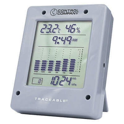 TRACEABLE Barometer,Digital,Gray, 6530, Gray