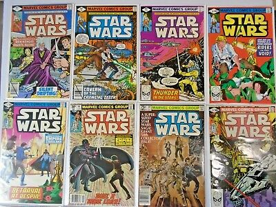 Hi-Grade Star Wars Lot From:#24-103, 35 Different, 8.0/VF and Better (1979-1986)