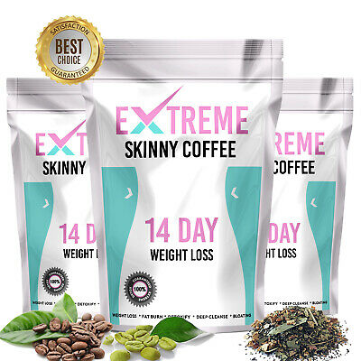 14 Day Skinny Coffee - Slimming Coffeetox, Weight Loss Coffee Tox, Fat Burner