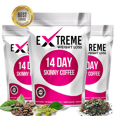 14 Day Skinny Coffee - Slimming Coffeetox, Fat Burn Coffee Tox, Weight Loss