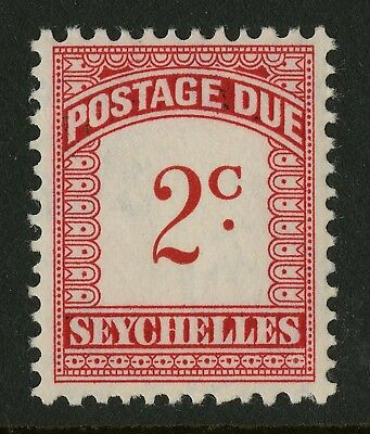 Seychelles  1951  Scott # J1  Mint Never Hinged