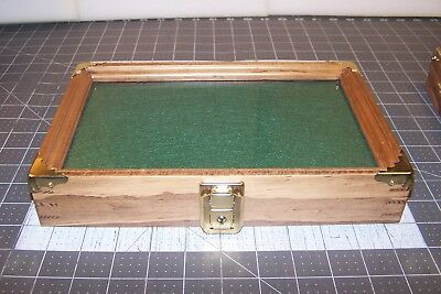 "Display Case 7X11X2 Wall Mount For Small Items Up To 1"" Thick"