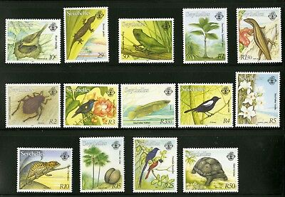 Seychelles  1993  Scott # 739-752  Mint Never Hinged Set