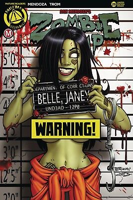 Zombie Tramp 26 NM Action Lab Comics Cover D Bill McKay Risque Variant