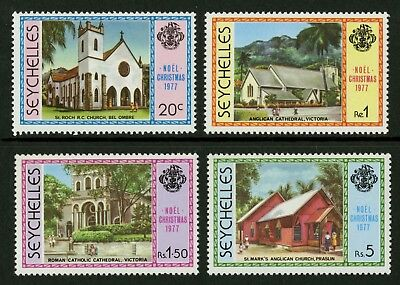 Seychelles  1977  Scott # 405-408  Mint Never Hinged Set
