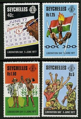 Seychelles  1978  Scott # 409-412  Mint Never Hinged Set