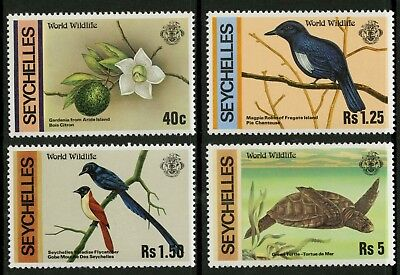 Seychelles  1978  Scott # 417-420  Mint Never Hinged Set