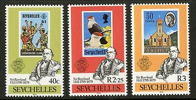 Seychelles  1979  Scott # 434-436  Mint Never Hinged Set