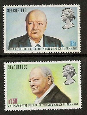 Seychelles  1974  Scott # 321-322  Mint Never Hinged Set