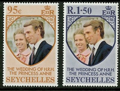 Seychelles  1973  Scott # 311-312  Mint Never Hinged Set