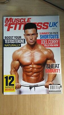 JOE WEIDER'S muscle & fitness UK edition  MAG June 2018  Joel Corry on cover