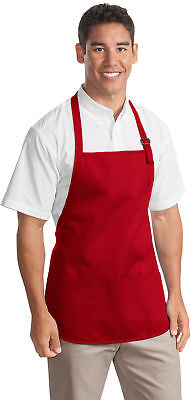 Personalized Custom Embroidered Picture Medium-Length Apron Pouch Pockets A510