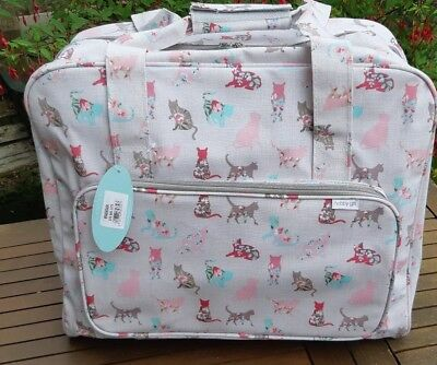 Hobby Gift MR4660/494 NEW CATS PATTERN PVC Sewing Machine Bag 20 x 43 x 37cm