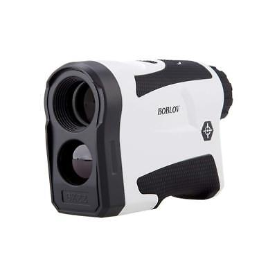 BOBLOV 650Yards GOLF LASER RANGE FINDER W/FLAG-LOCK &VIBRATION 6X Magnification