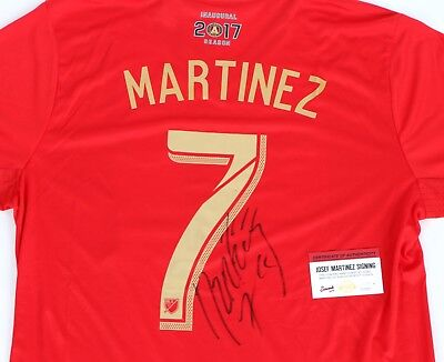 huge discount f6965 285ec JOSEF MARTINEZ SIGNED Atlanta United FC Replica Jersey autograph MLS Record  COA