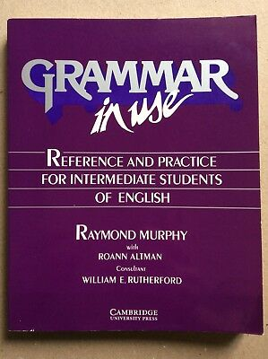 GRAMMAR IN USE Cambridge University Press Intermediate Students Of English Book