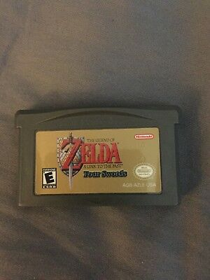 Legend of Zelda: A Link to the Past (Nintendo Game Boy Advance, 2002) -Game Only