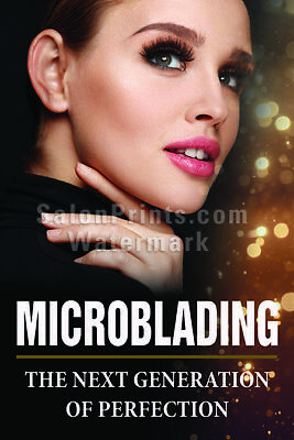 P-302 Nail Salon Poster Permanent Makeup Microblading Offers Poster