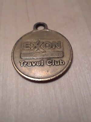 Vintage Exxon Travel Club Key Fob Drop In Mail Box FREE SHIPPING