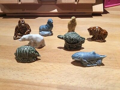Wade Whimsies Survival Animals 1984 Complete Set Excellent Condition